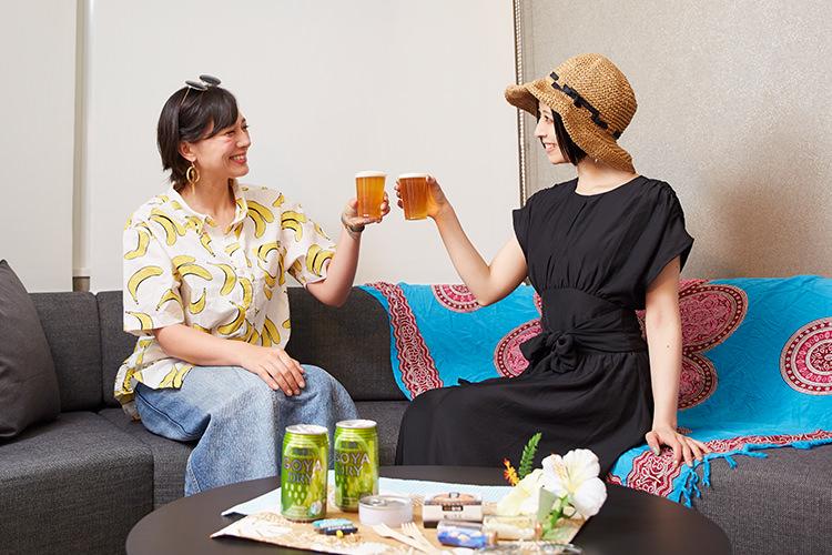 クラフトビールと缶つまを持ち寄って ホテルで旅するおこもりステイ