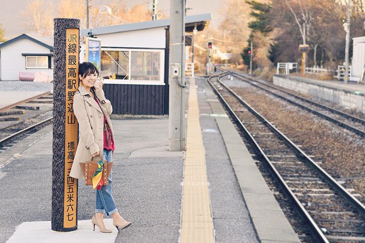 鉄道タレント・木村裕子の ほろ酔い飲み鉄紀行~JR小海線編~①