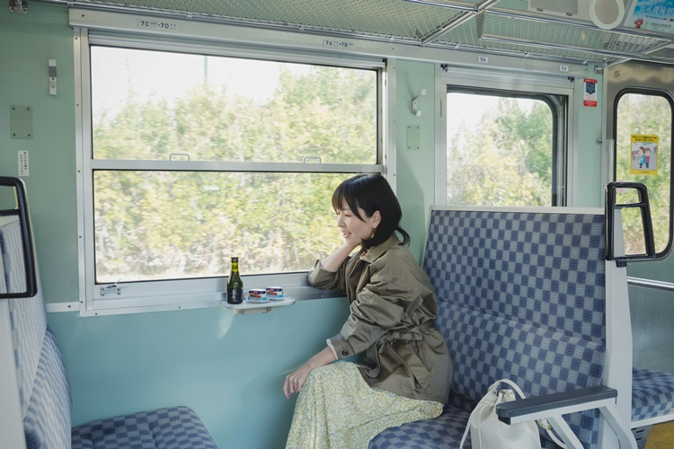 鉄道タレント・木村裕子の ほろ酔い飲み鉄紀行~しなの鉄道編~