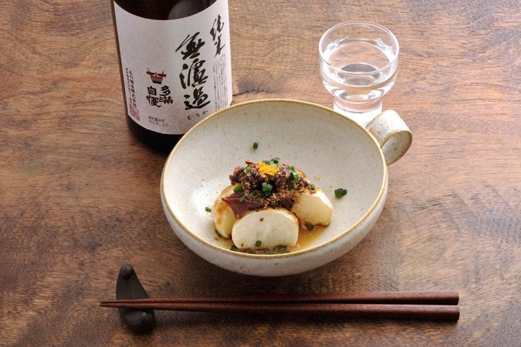 """日本酒に合う""""缶つま""""やせつまみ① 「ほたるいかの沖漬と蕪の和え物」"""