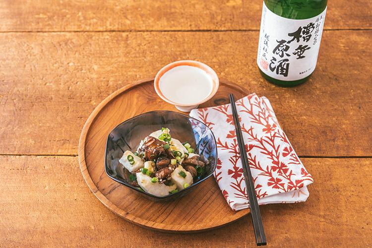 \缶つまを使って簡単アレンジ/ 日本酒と味わいたい とっておきおつまみ①