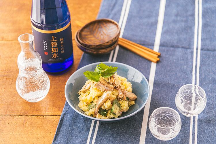 \缶つまを使って簡単アレンジ/ 日本酒と味わいたい とっておきおつまみ②
