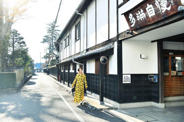 """【夏菜さんインタビュー】 夏菜さんが東京・福生で""""ハシゴ酒蔵""""①"""
