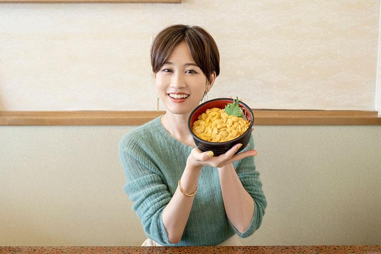 前田敦子さん [Spot2]お食事処 みさき 積丹でココは外せない! 新鮮な天然ウニを堪能