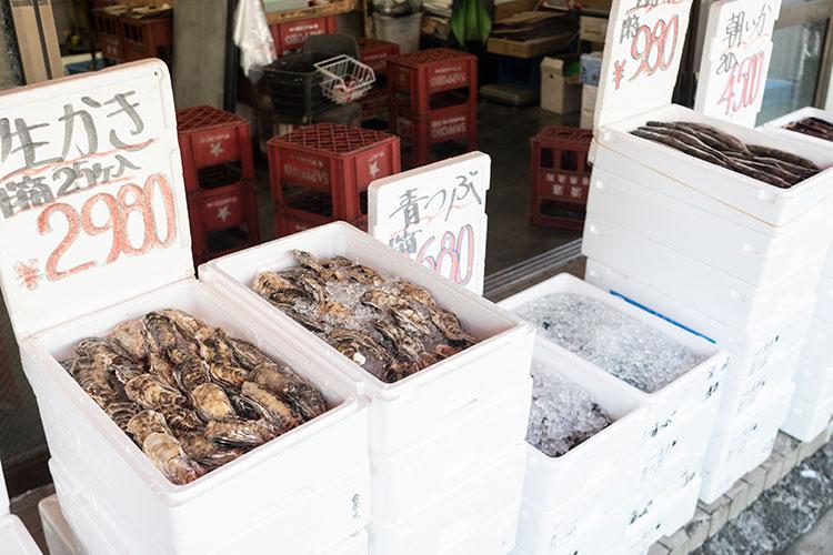 魚の「箱売り」