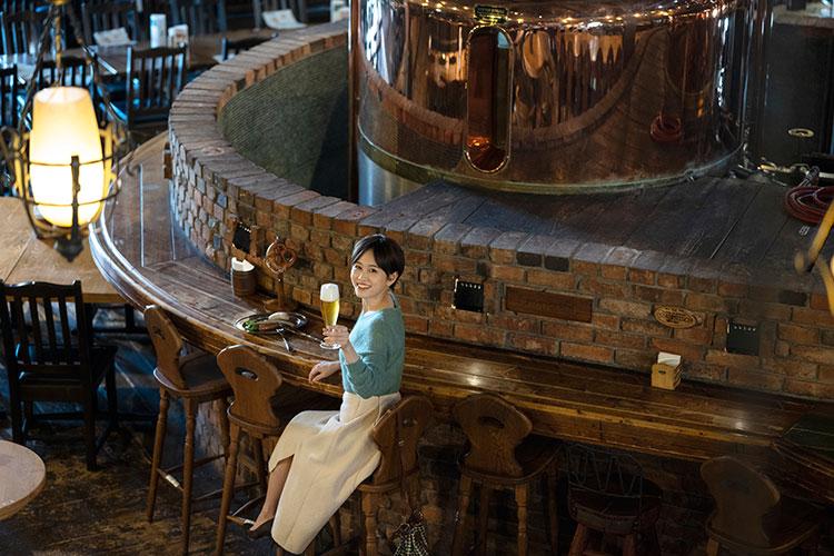 前田敦子さん 小樽倉庫No.1 ビアパブを併設した醸造所で〆は小樽ビールを!
