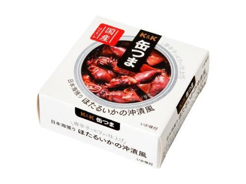 缶つま 日本海獲り ほたるいかの沖漬風