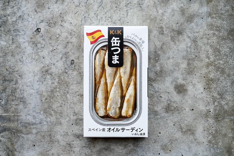 缶つま スペイン産 オイルサーディン