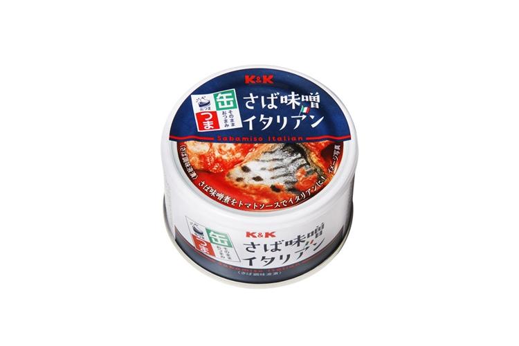缶つま さば味噌イタリアン
