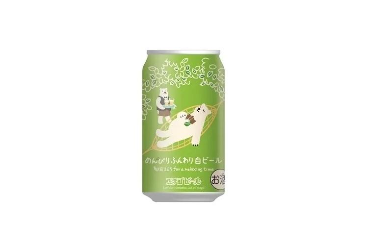 のんびりふんわり白ビール/エチゴビール